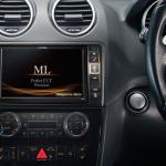"Alpine X800D-U 8"" Premium Navigation Multimedia Solution - Mercedes Ml - Mecedes GL - Signature Car Sound"