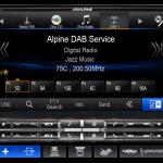 "Alpine X008DU 8"" Navigation Multimedia Head unit -Signature Car Sound"