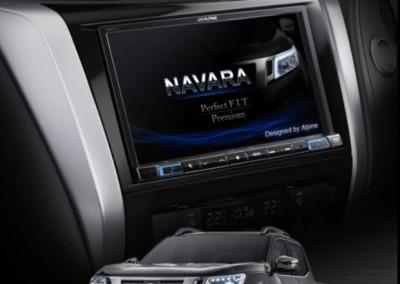 "Nissan Navara '15 - 8"" Navigation Solution"