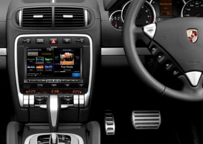 """Porsche Cayenne 8"""" Navigation Solution"""