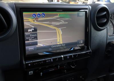 Alpine X009E-U Compatible with 2016 Toyota Landcruiser HJ79