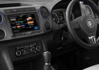 """VW Amarok 8"""" Navigation Solution"""