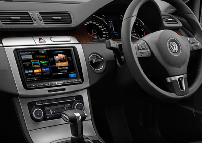 "VW Passat - Alpine 8"" Navigation Solution"