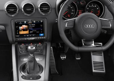 "Audi TT - Alpine 8"" Navigation Solution"