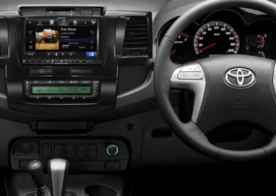 """Toyota Hi-Lux 8"""" Navigation Solution"""