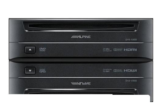 Alpine DVE-5300 DVD Player - Signature Car Sound