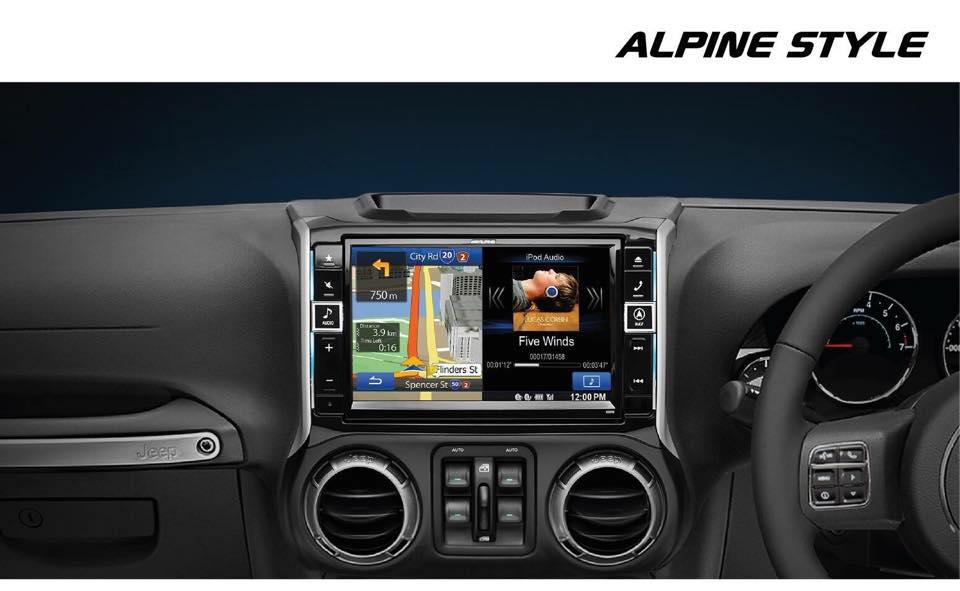 ALPINE JEEP WRANGLER 9 INCH NAVIGATION NOW AVAILABLE!