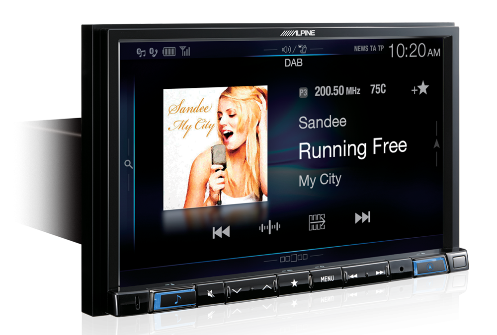 NEW RELEASE! Alpine X108AU Navigation Multimedia Head Unit
