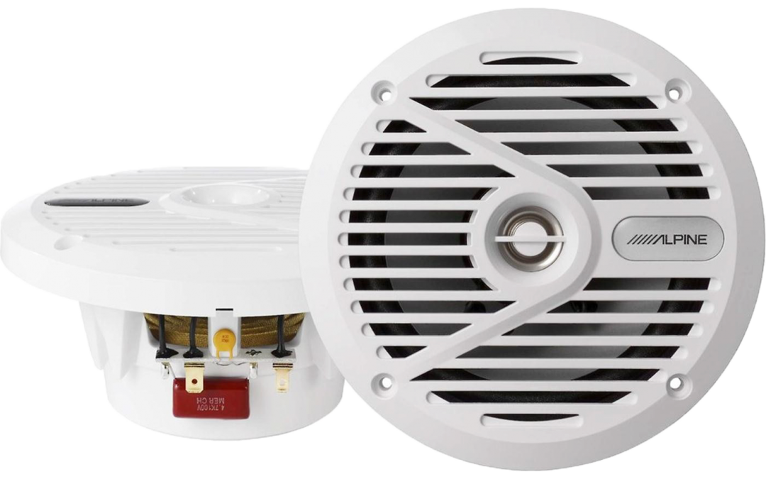 New Release! Alpine SWS-M601 6.5″ Marine Speakers