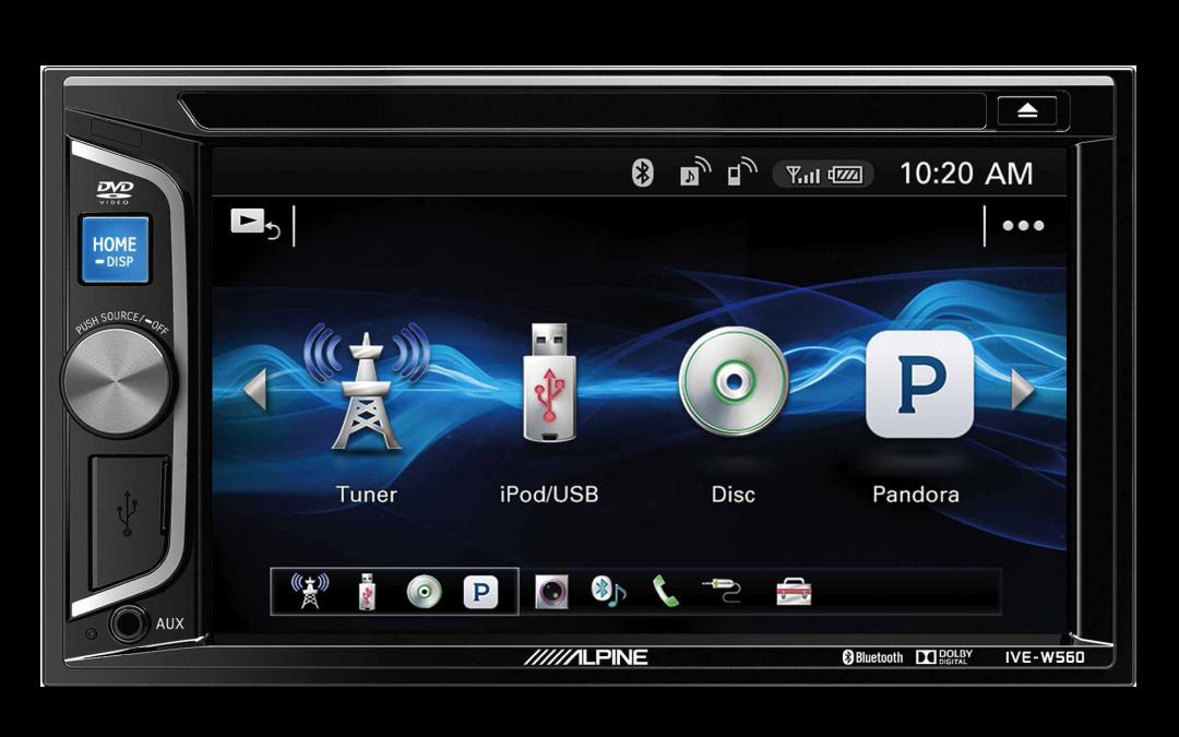 New Release! Alpine IVE-W560A Multimedia Head Unit