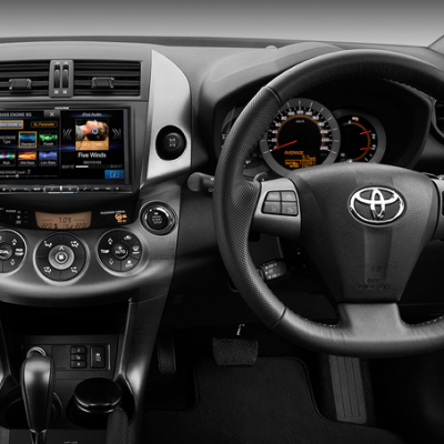Alpine X008AU solution for Toyota Rav4