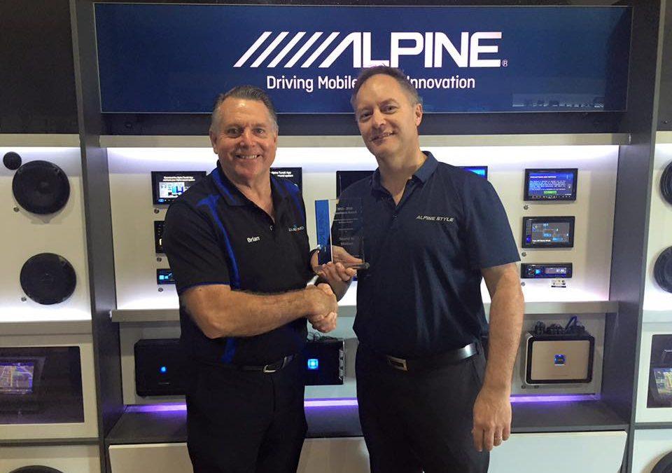 2015-2016 Excellence Award – Best Premium Navigation Solution Sales – QLD