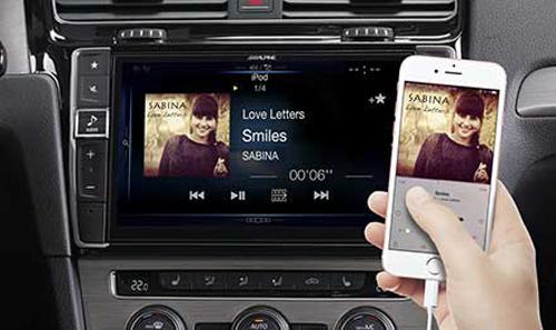 Golf-7-iPhone-Playback-X901D-G7