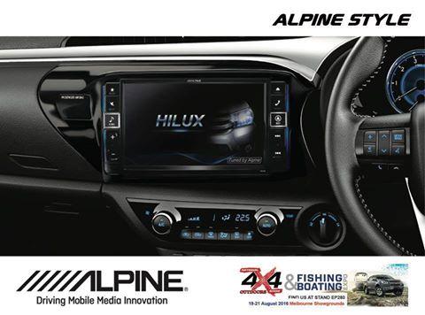 2016 Toyota Hilux – 9″ Navigation Solution