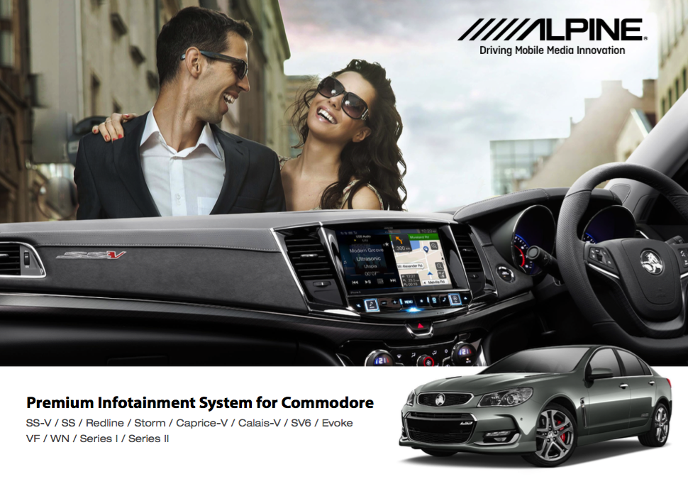 The Wait Is Over! Holden VF Commodore 9″ Navigation Solution is here