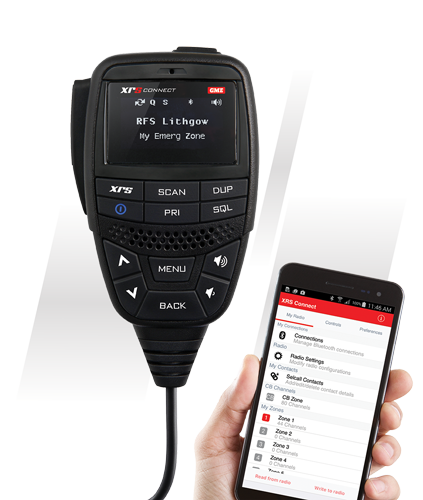 New Release! GME XRS Connect-370C UHF CB Radio