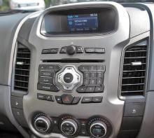Ford Ranger 2014 Dash