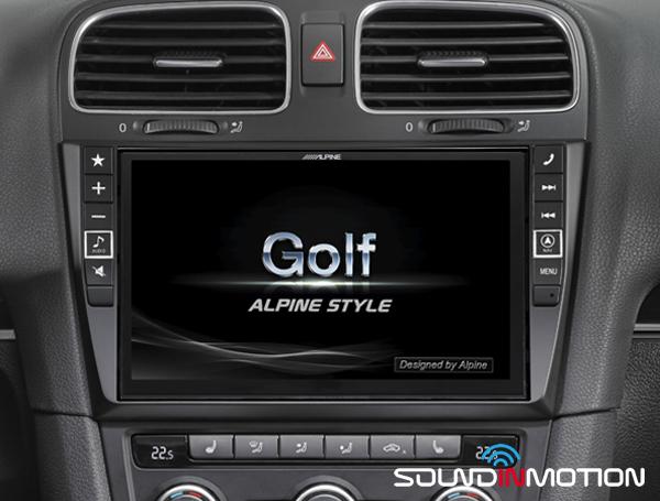 VW GOLF VI Alpine X901D-G6