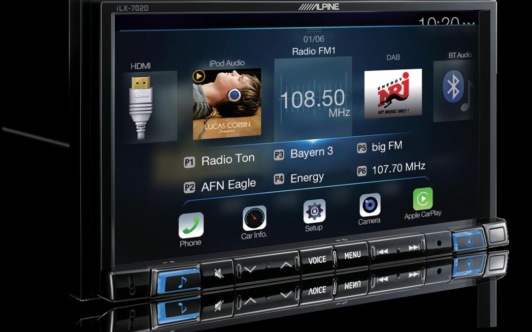 SNEAK PEAK! Alpine iLX-702D Apple CarPlay / Android Auto Head Unit
