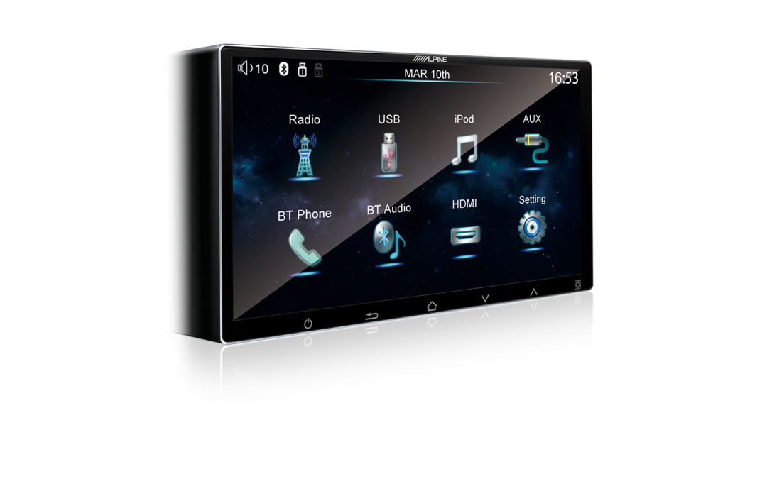 New Release! Alpine iXE-W400E Digital Media Head Unit