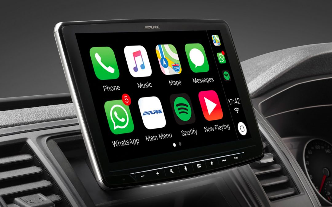 Alpine Halo9 iLX-F309E – 9inch Display 1DIN Apple CarPlay & Android Auto