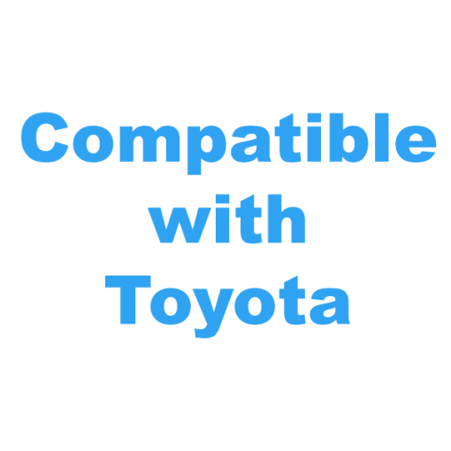 Compatible with Toyota