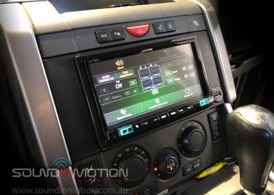 Range Rover Headunit