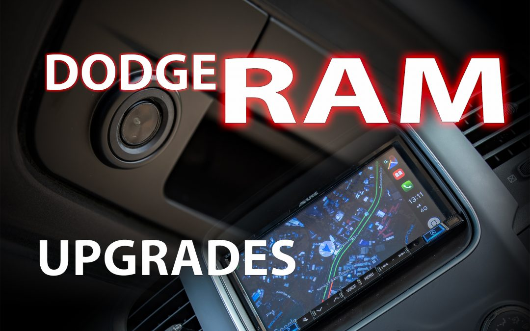 Dodge RAM Entertainment Upgrade