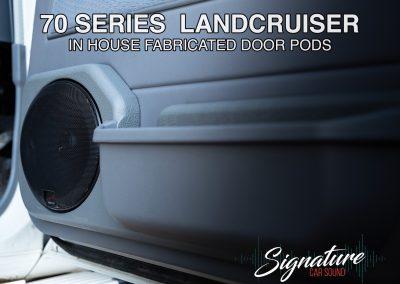 Land Cruiser Speaker Pods