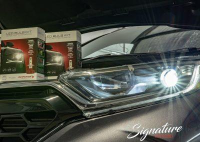 Honda CRV Headlight upgrade